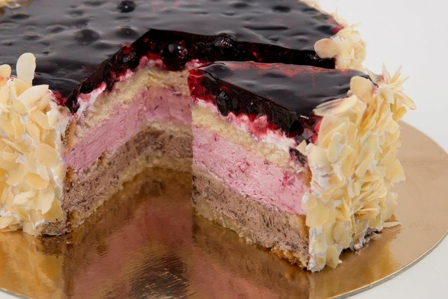 ночные клубы торты в разрезе фото с рецептом самое распространенное домашнее
