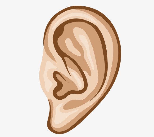 Уши в картинках для детей, высказыванием