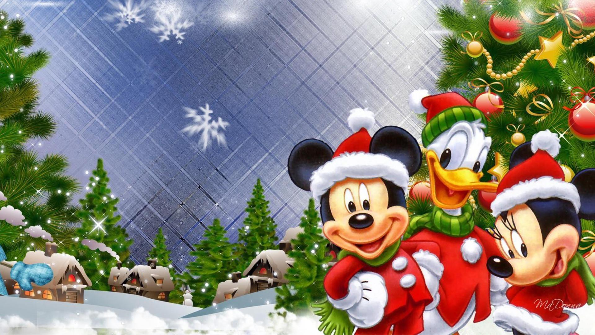 Sfondi Natalizi Mac.Sfondi Disney Natale