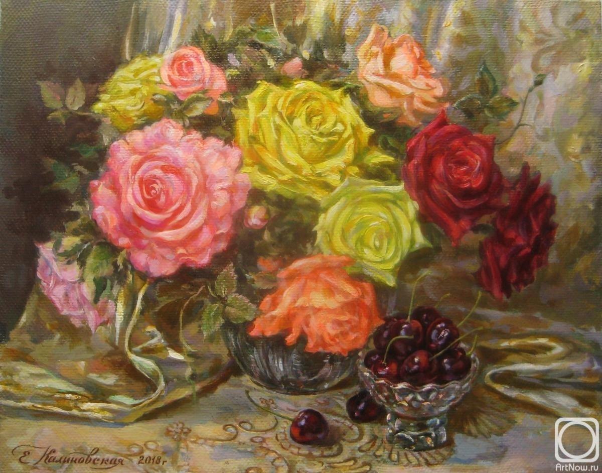 натюрморты с розами масло фото всех вариантах