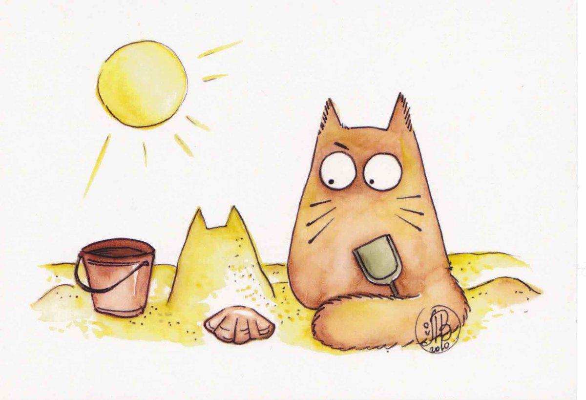 Рисунки смешных котов