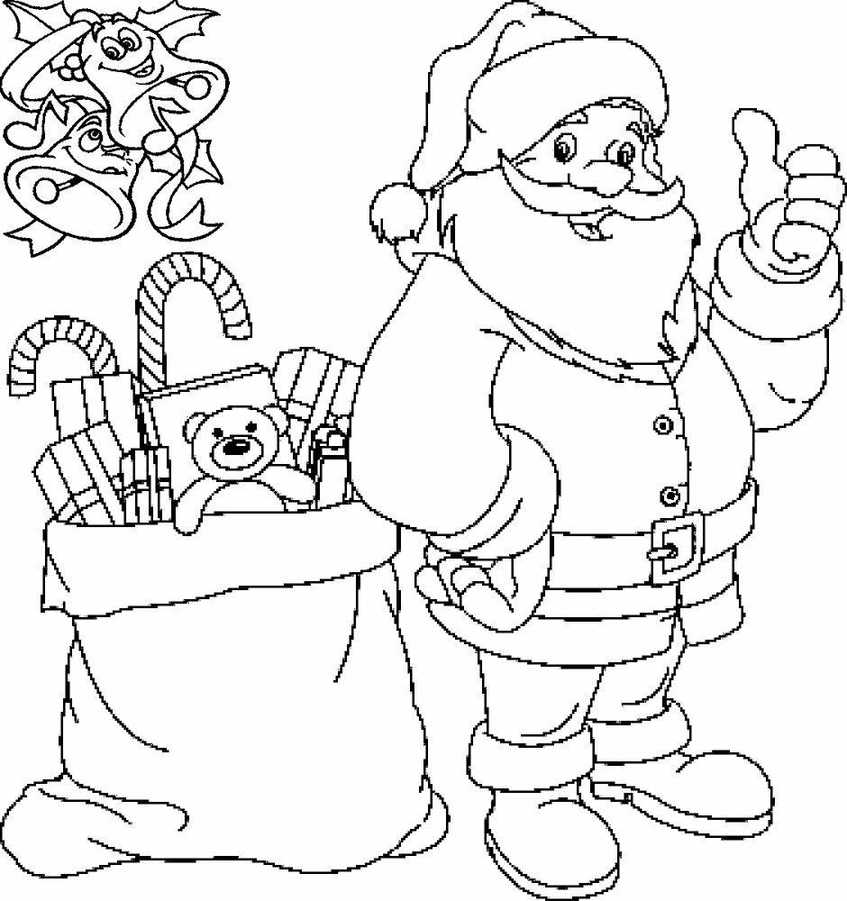 Дед мороз в картинках для раскрашивания, прикольные ежиками открытка