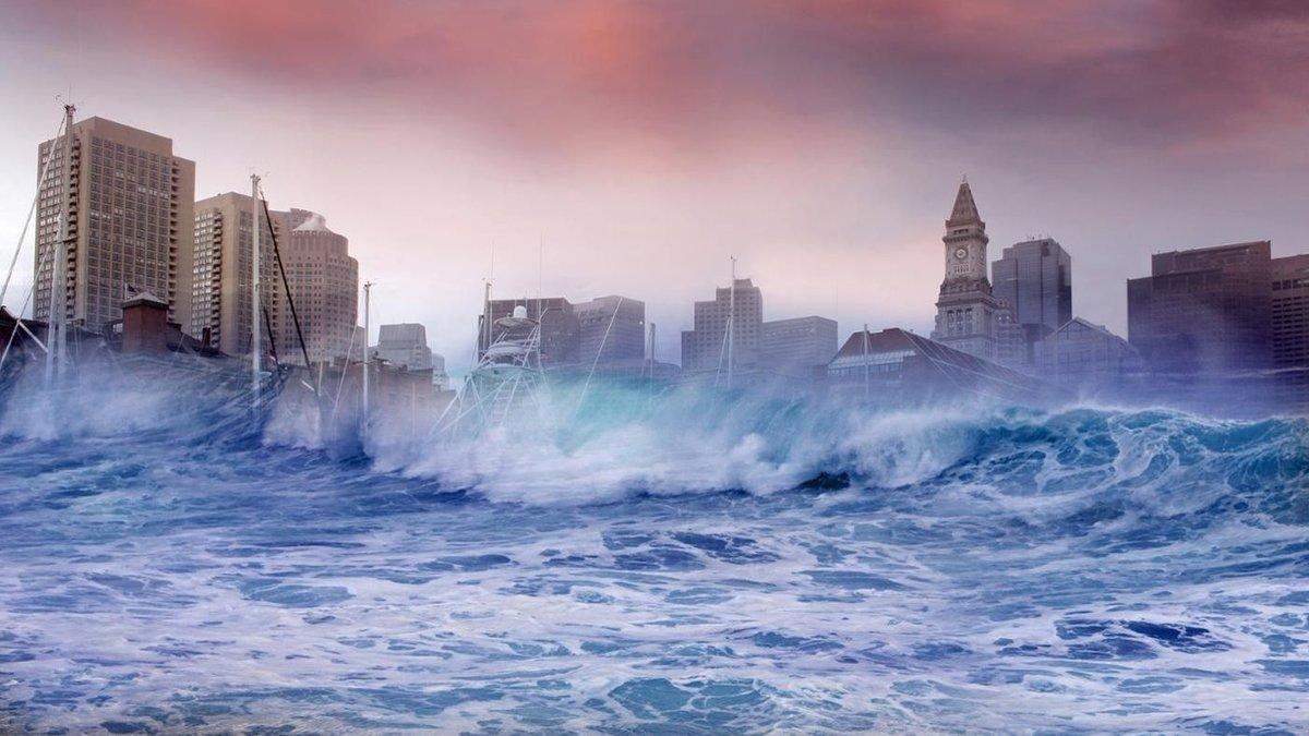 образуют моногамные цунами картинки волна на город для
