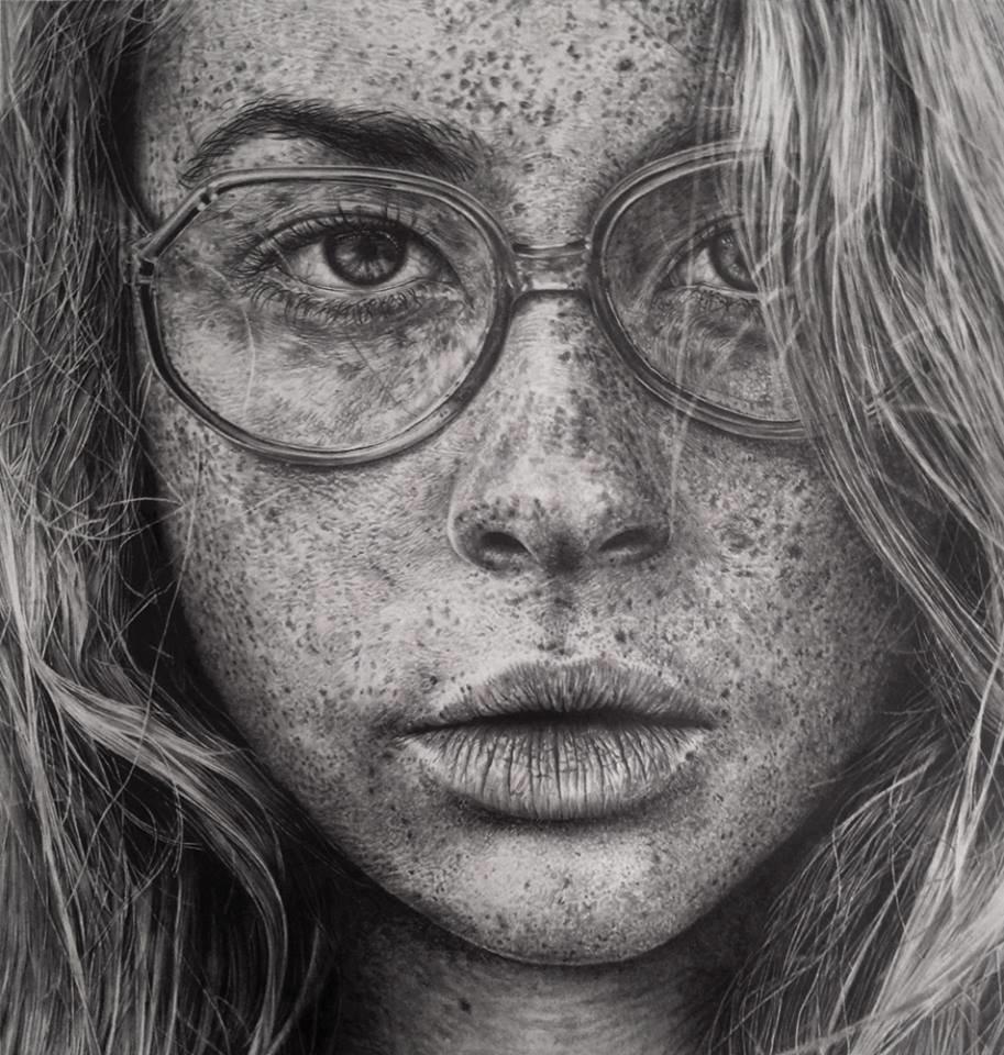более реалистичные рисунки простым карандашом себе