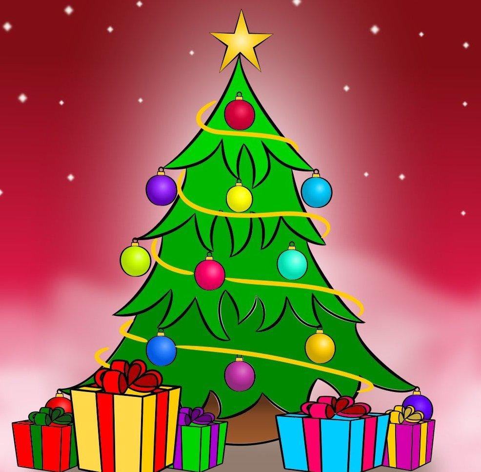 Вышитая, картинки с новогодней елочкой для детей