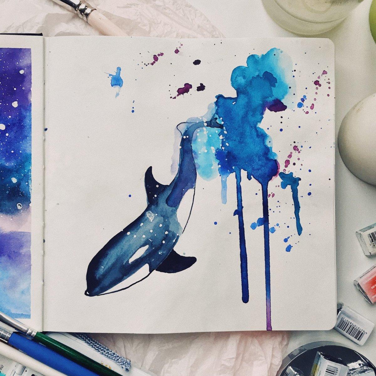 Крутые рисунки краской для начинающих