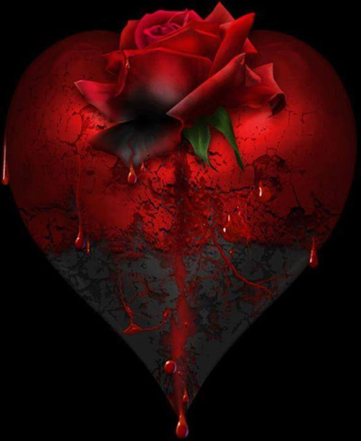 gothic heart pictures - HD 1200×1467