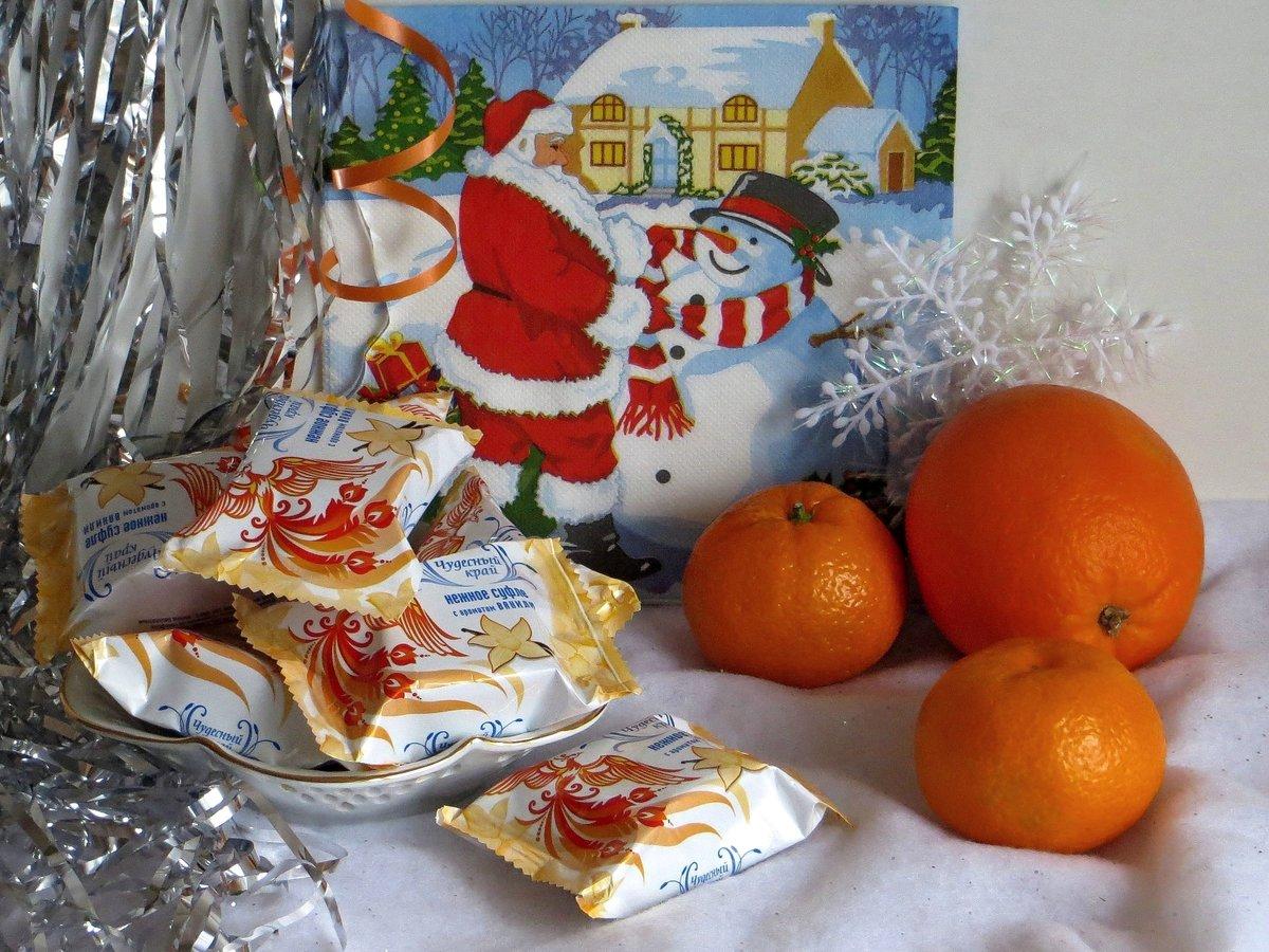 Открытки с мандаринами фото