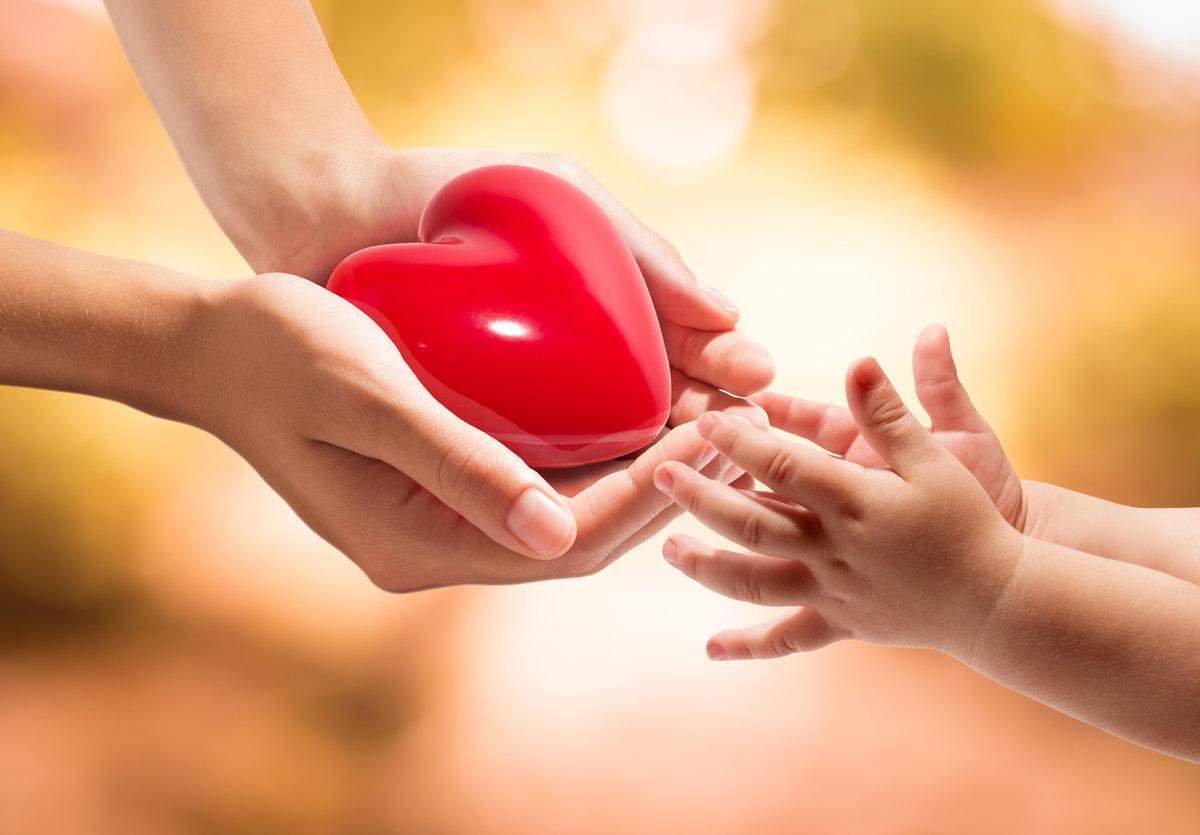 Картинки сердце в ладошках