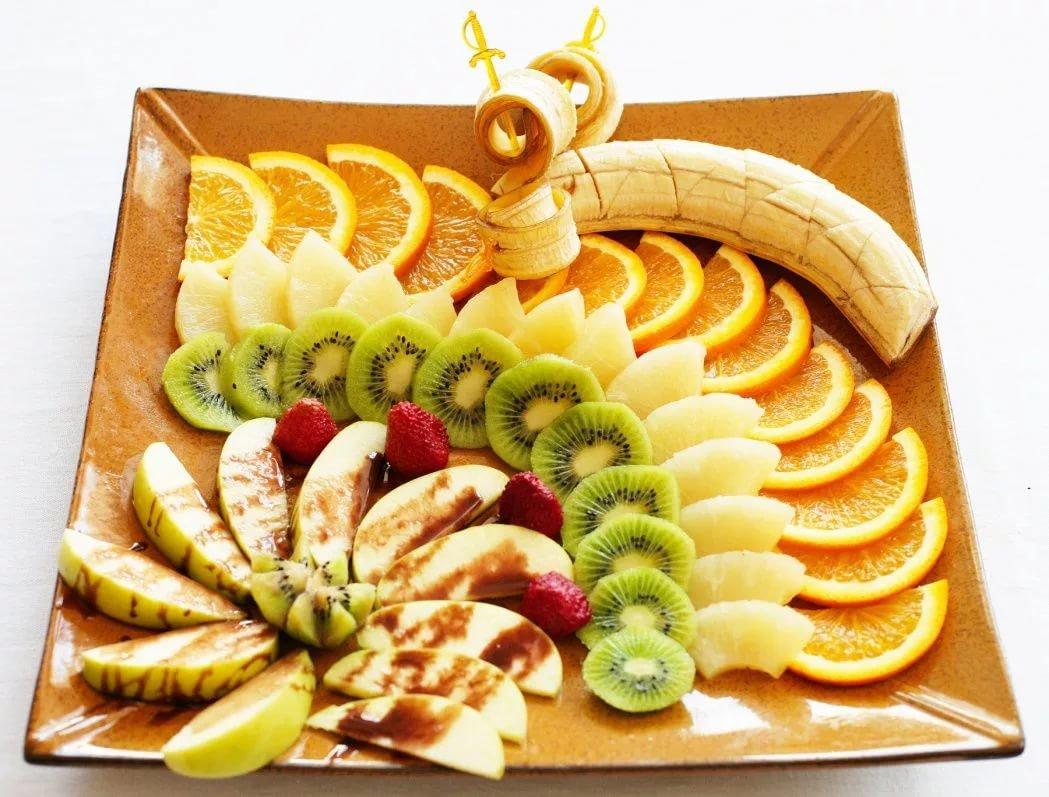 Нарезки из фруктов картинки