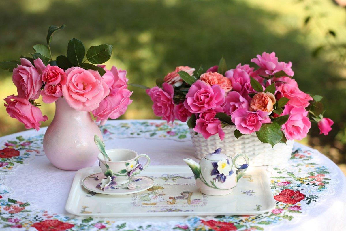 Для, картинки с добрым утром и хорошего дня красивые летние