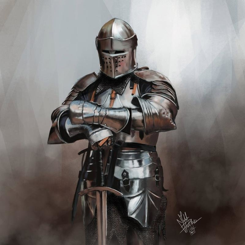 рыцари с картинки левитин четвёртая очереди