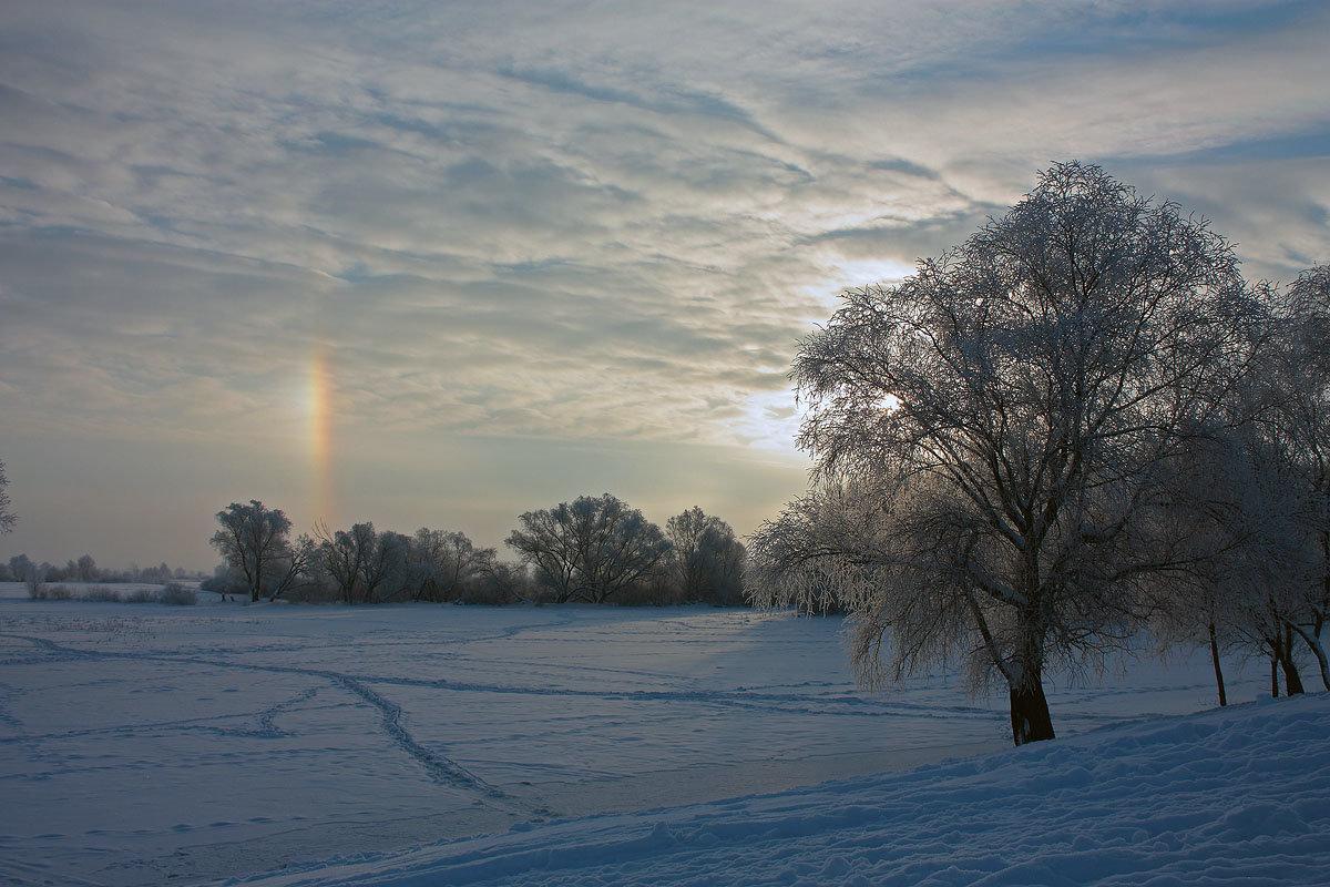 картинка радуга зимой намного приятнее