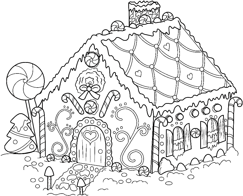 сказочный домик раскраска для малышей икра закрывается