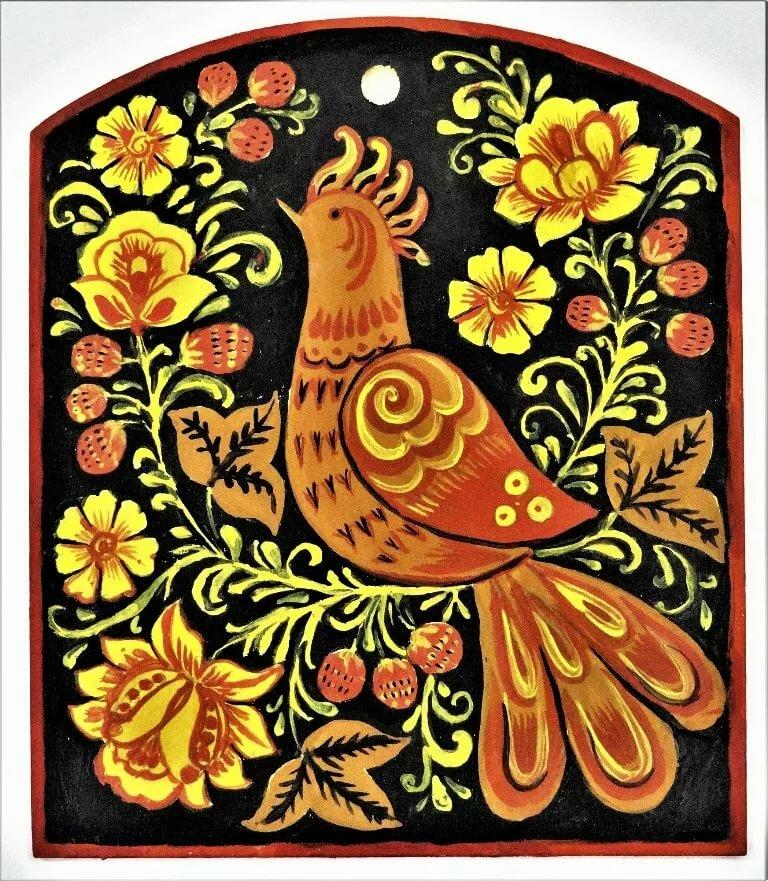картинки с народной росписью для хранения овощей