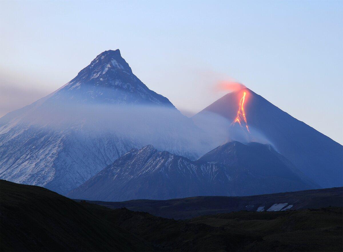 Картинки вулканы на камчатке