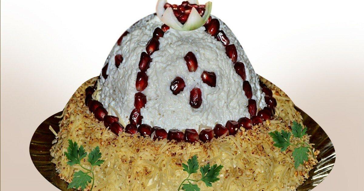Салат шапка мономаха с картинками