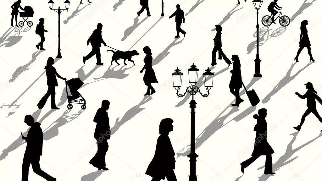 Картинки человечек и его тень