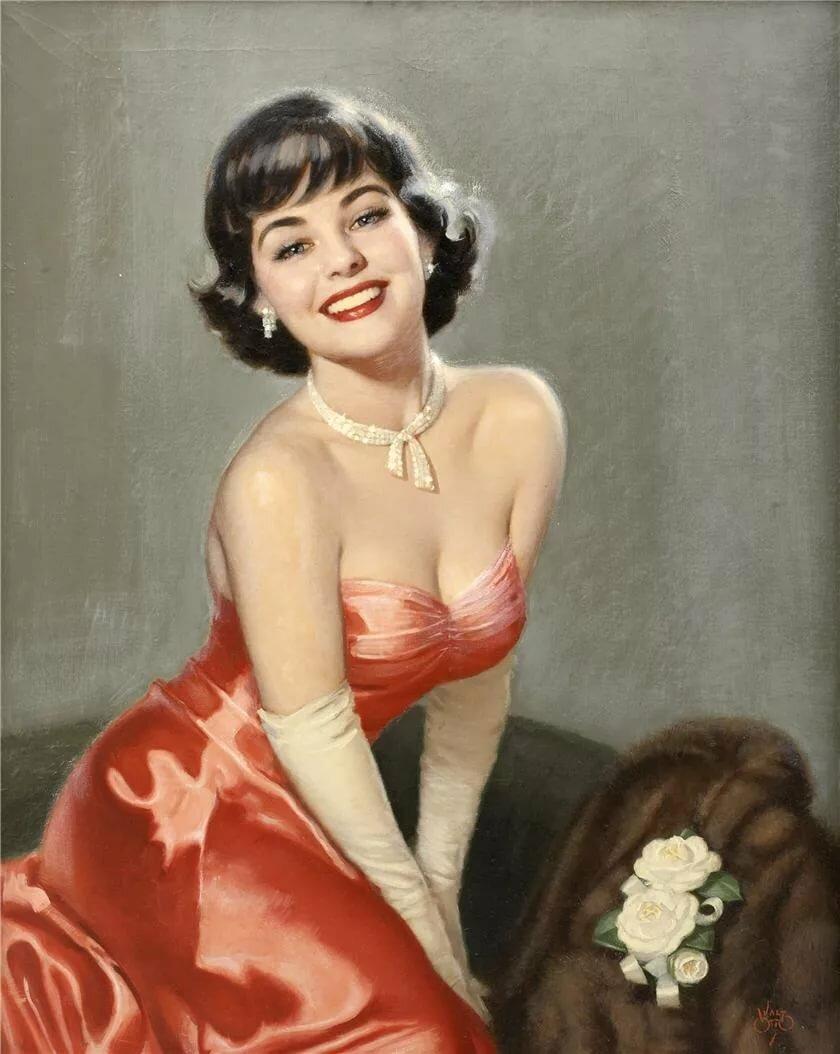 Открытки днем, открытки с прекрасными дамами