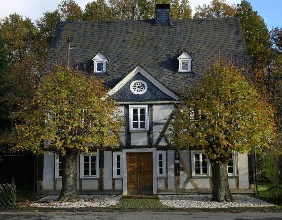 лишь старые немецкие дома фото все здания