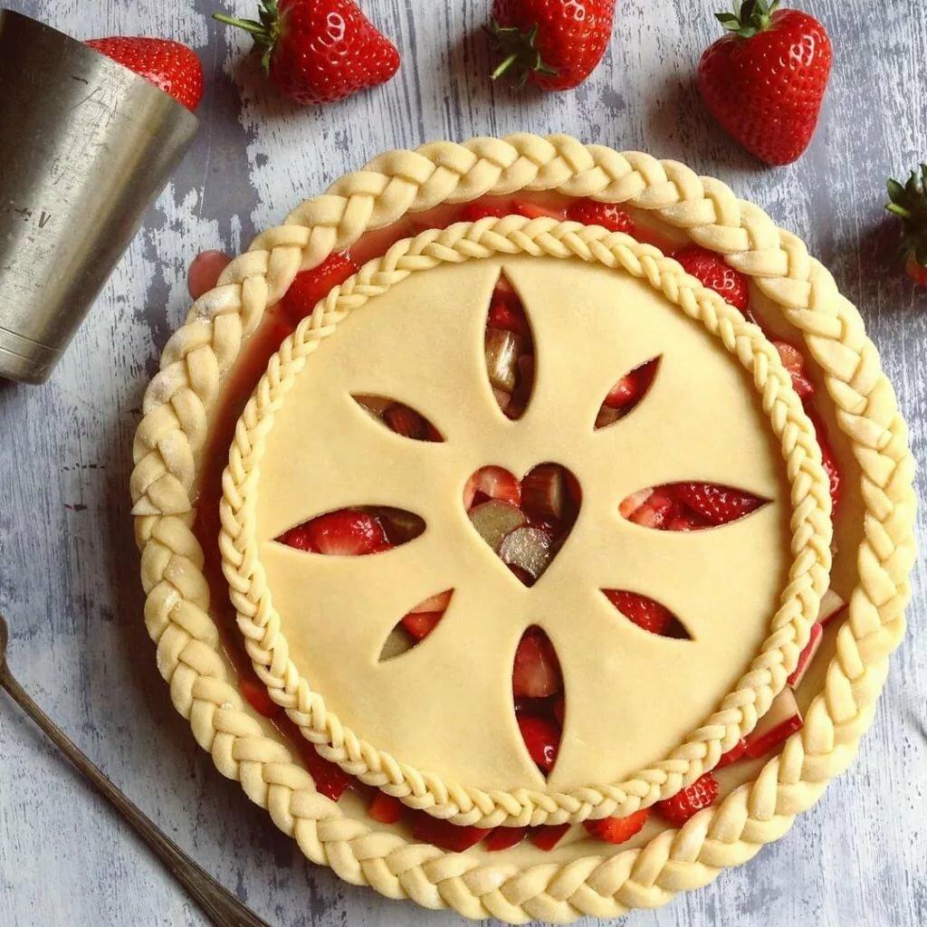 картинки как украсить пирог желает этом останавливаться