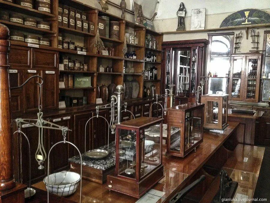 Фото музея королевского фармацевтического общества