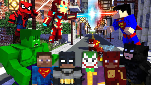 сборки майнкрафт 1.7.10 с модом super hero #10