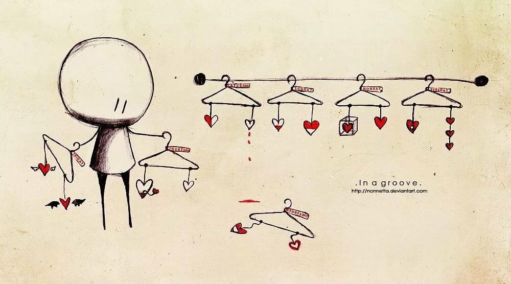 милые человечки открытки как быть