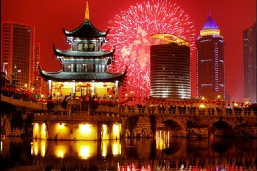 Китай открытка, алмазами поздравление днем