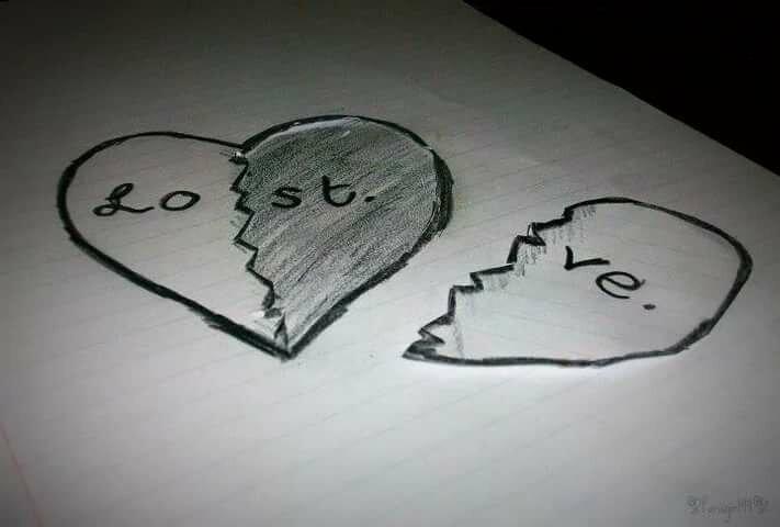 Картинки карандашом про любовь легкие и красивые