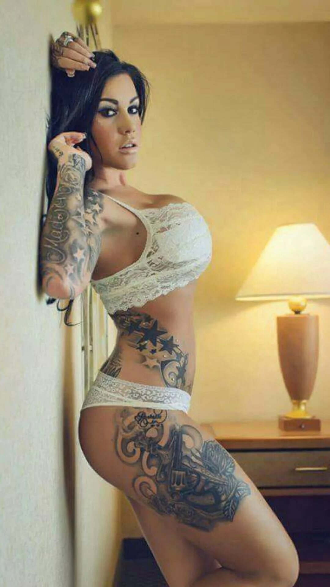 Hot tattoos on women nude #5