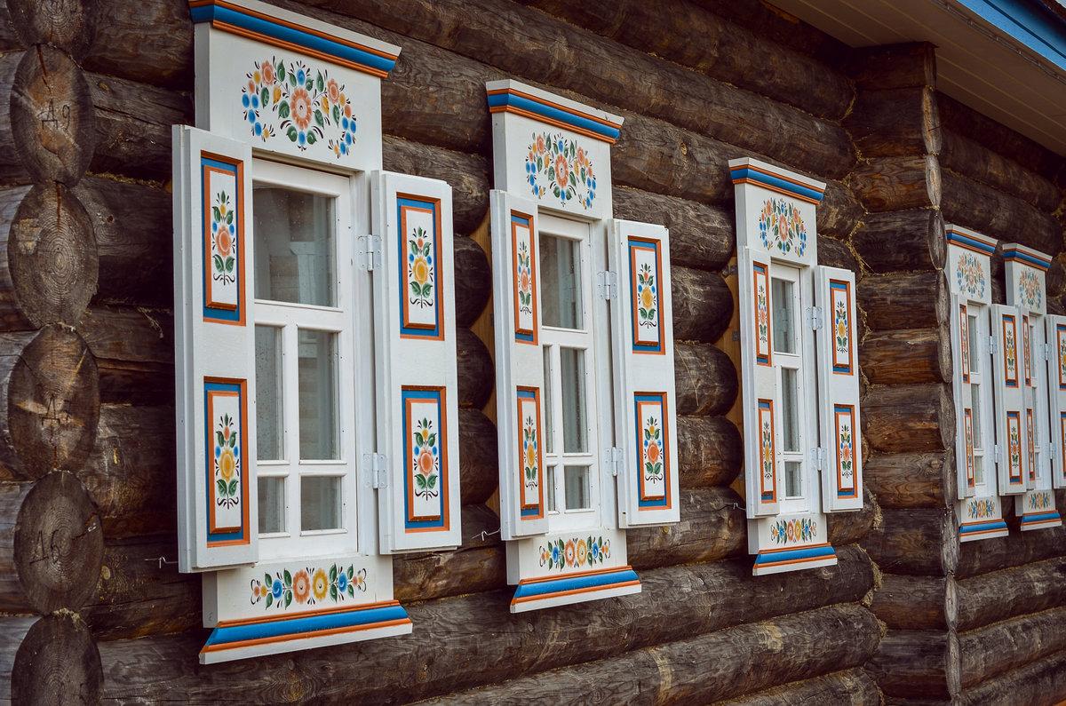 Ставни русской избы картинки