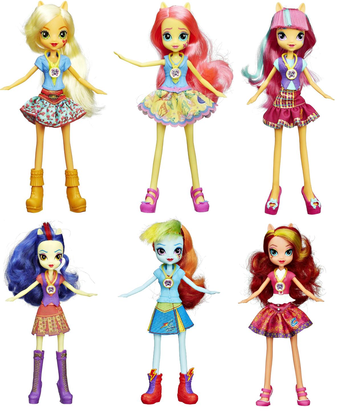 куклы эквестрия герлз фотомодели них разница