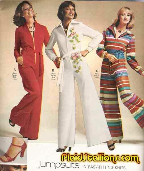 1e4b72acdd69 ... Plaid Stallions   Rambling and Reflections on  70s pop culture  Bring  Back the Jumpsuit