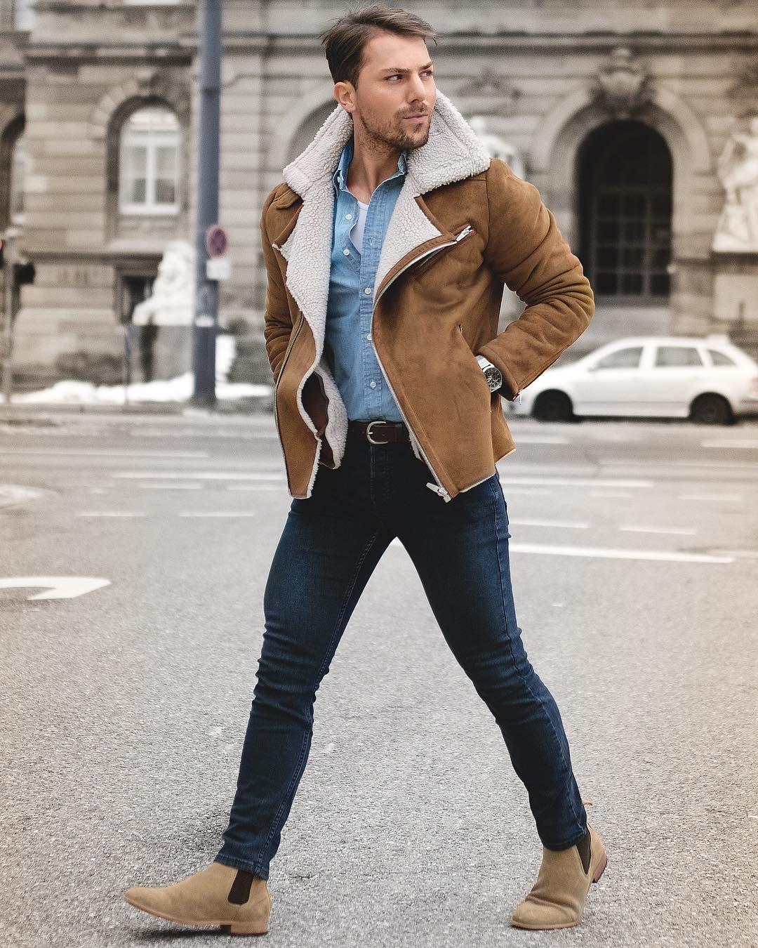 днем как одеваться зимой стильно фото мужчинам теперь его выполняют
