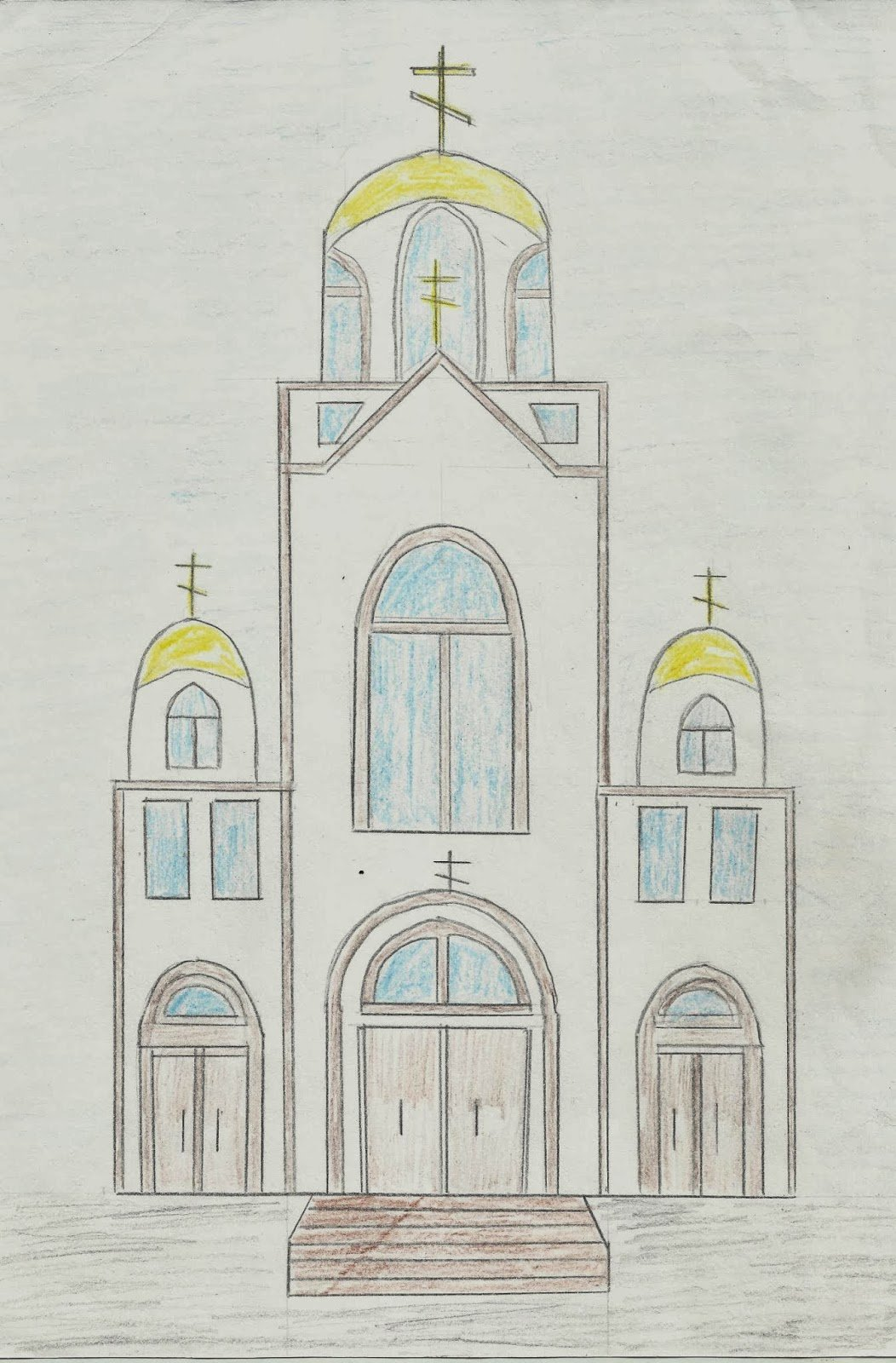 Музеем для, картинки соборов для рисования
