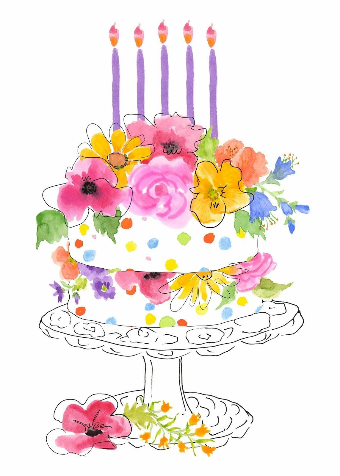 Открытки с днем рождения нарисовать акварелью, оля андрей смешные