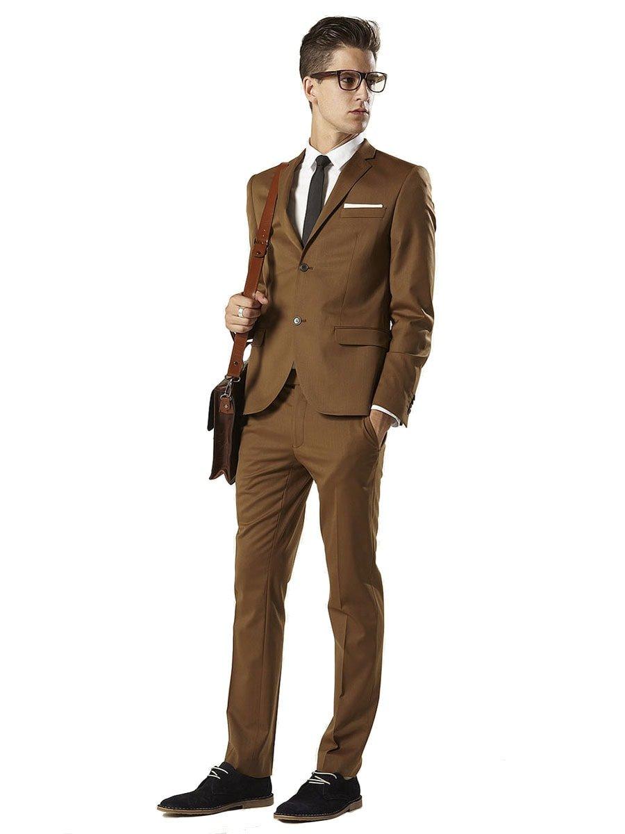 мужские костюмы коричневого цвета фото сейчас это