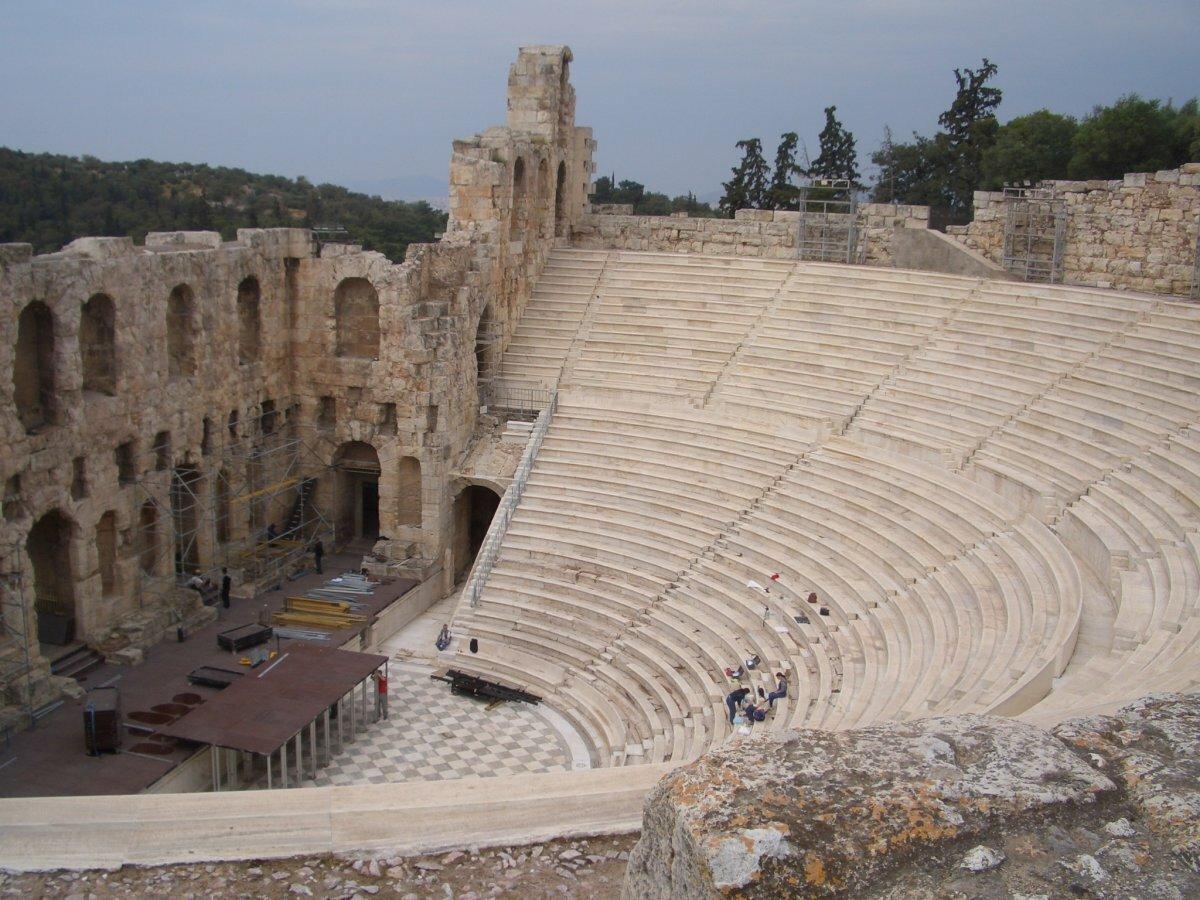 Театра диониса картинка