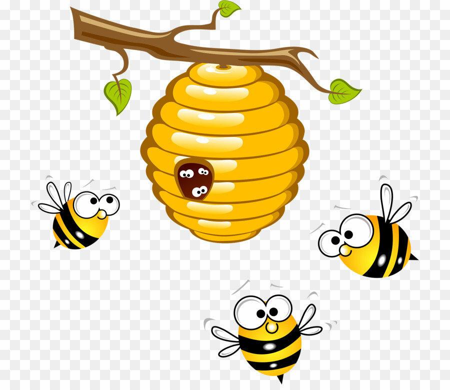 Пчелы и мед картинки для детей