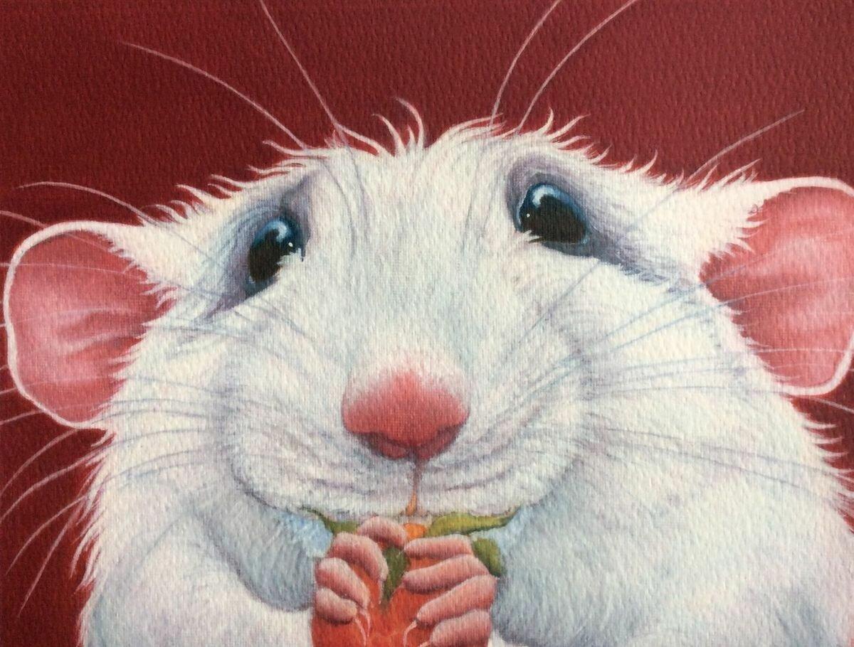Крыса картинки нарисованные прикольные