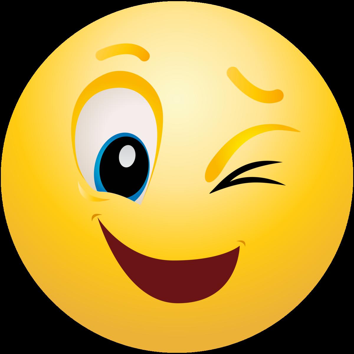 Картинка смайлика веселого