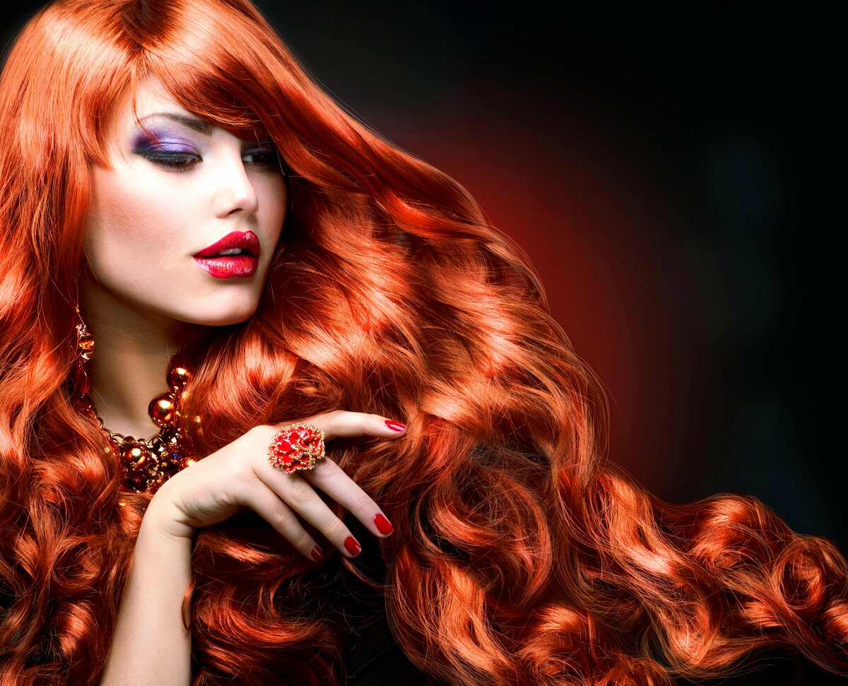 Hair salon girl #1