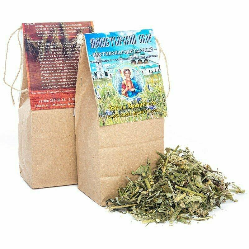 Монастырский чай от паразитов в Полтаве