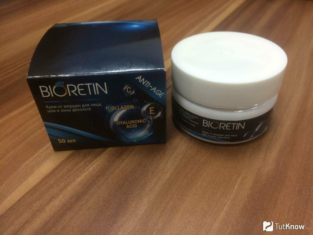 Bioretin - омолаживающий крем в Сочи