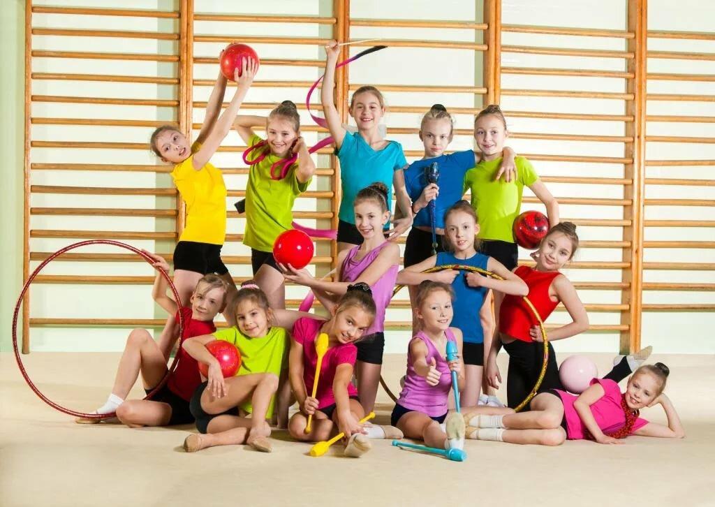 Общая гимнастика картинка