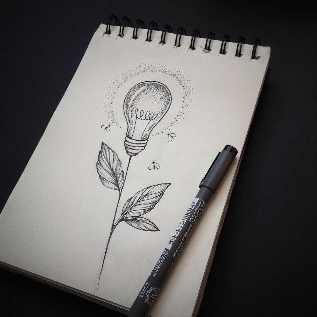 необычные рисунки карандашом легкие спорт они