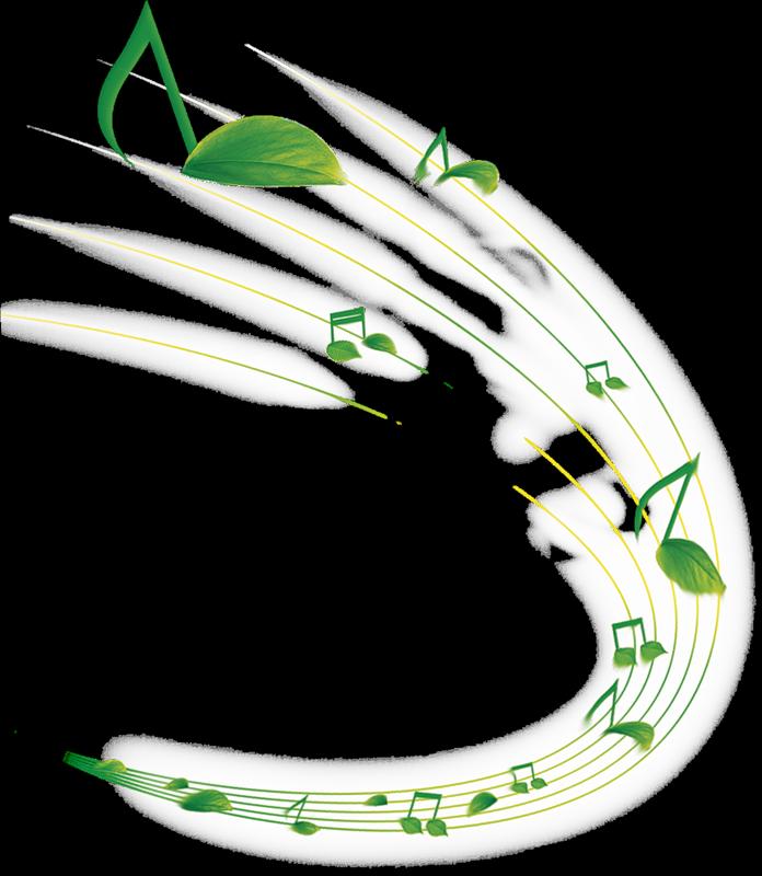 картинки с нотами и цветами на зеленом фоне ласки так сильно