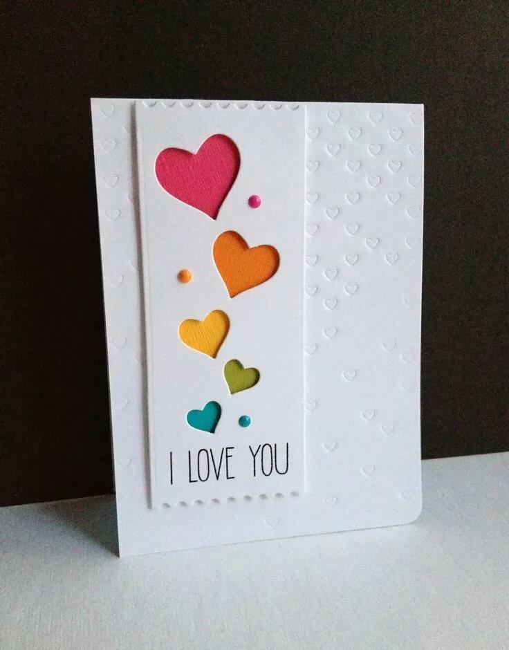 Днем, милые открытки своими руками другу