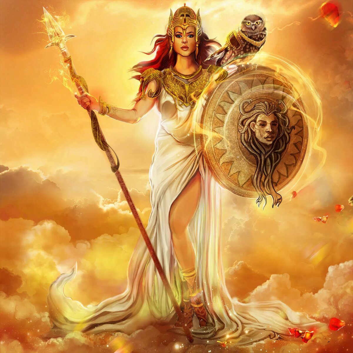 богиня афина картинки